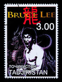 Bruce Lee Postage Stamp — Stock fotografie
