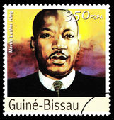 Martin Luther King Postage Stamp — Stockfoto