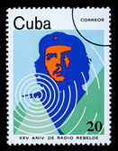 Che Guevara Postage Stamp — Stock Photo