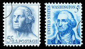 George Washington Postage Stamp — ストック写真