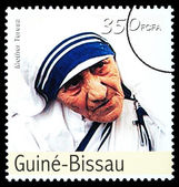 Mother Teresa Postage Stamp — Stock Photo