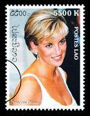 Princess Diana Postage Stamp — Stock Photo
