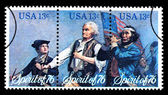 Bicentennial Postage Stamp — Stock Photo