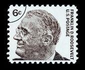 Franklin Delano Roosevelt Postage Stamp — Stock Photo
