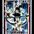 Bruce Lee Postage Stamp — Stock Photo #46571397