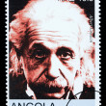 Постер, плакат: Albert Einstein Postage Stamp