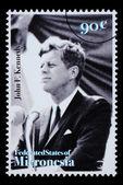 John F. Kennedy Postage Stamp — Photo