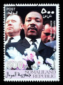 Martin Luther King Postage Stamp — Stock Photo