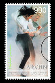Michael Jackson Postage Stamp — Stock Photo
