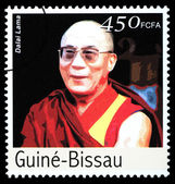 Dalai Lama Postage Stamp — Stock Photo