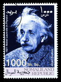 Albert Einstein Postage Stamp — Stock Photo