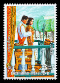 Kingdom Of Thailand Postage Stamp — Stock Photo