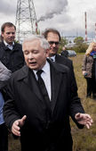 Jaroslaw Kaczynski  Former Prime Minister of Poland — Stock Photo