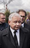 Jaroslaw Kaczynski  Former Prime Minister of Poland — Stock Photo