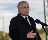 Jaroslaw Kaczynski — Stock Photo
