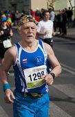 Senior Male Marathon Runner — Stock Photo