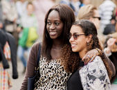 Two unidentified sexy African womans — Stock Photo