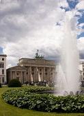 Brandenburg Gate (Brandenburger Tor) in Berlin — Stock Photo