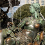 ������, ������: Neptunbrunnen Neptune fountain in Berlin