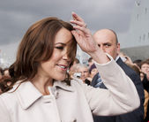 Princess Mary of Denmark visit Poland — Stock Photo