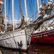 "The sailing ship ""Joanna Saturna"" in harbour — Stock Photo #48132105"