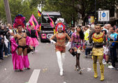 Gay pride parade in Berlin — Foto Stock