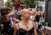Gay pride parade in Berlin — Stock Photo