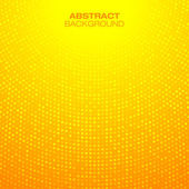 Abstract Circular Orange Background — Stock Vector