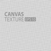 Canvas texture — Stock Vector
