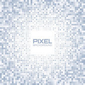 Abstract blue gray light pixel background — Stock Vector