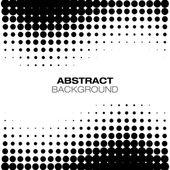 ハーフトーンの抽象的な背景 — ストックベクタ