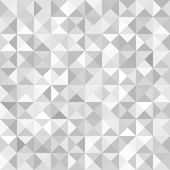Abstract Gray Geometric Technology Background — Vetorial Stock