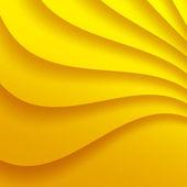 żółte tło faliste. — Wektor stockowy