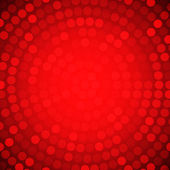 Circular Colorful Red Background. — ストックベクタ