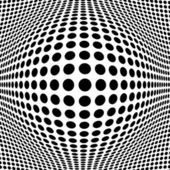 Abstract Black Halftone Background — Vecteur