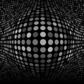 Abstract Dark Gray Technology Background — Stock vektor