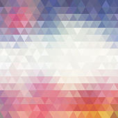 Colorful Geometric Background. — Stock Vector