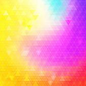 Colorful Bright Geometric Background. — Vetorial Stock