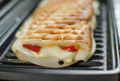 Panini sandwiches italien — Stock Photo