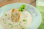 Sopa de guisantes — Foto de Stock