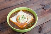 Sopa goulash — Foto de Stock