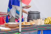 Mexican stand — Foto de Stock