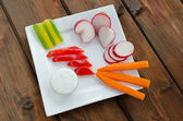 Crudites — Stock Photo