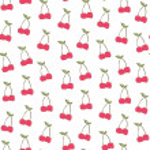 Cute Cherry Background Pattern — Stock Photo #48161401