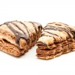 Flaky chocolate chip cookies — Stock Photo #47433515