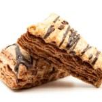 Flaky chocolate chip cookies — Stock Photo #47433521