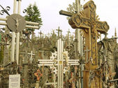 Hill of Crosses, Lithuania — Stockfoto