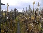 Wzgórze krzyży, litwa — Zdjęcie stockowe