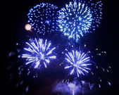 Fireworks for new year — Stock Photo