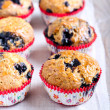 Homemade blueberry muffins — Stock Photo #46927835
